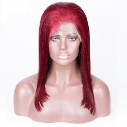 Full Lace Wig, Color 99j (Burgundy)