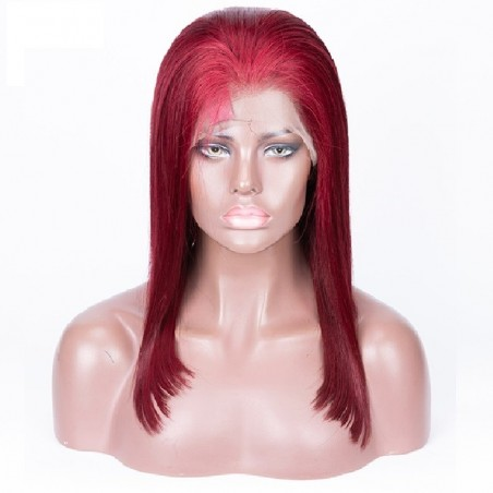 Full Lace Wig, Color 530 (Red Wine)