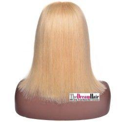 Full Lace Wig, Color 14 (Dark Ash Blonde)