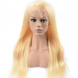 Full Lace Wig, Color 24 (Golden Blonde)