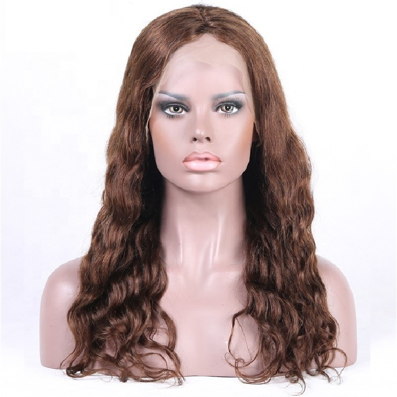 Full Lace Wig, Color 2 (Darkest Brown)
