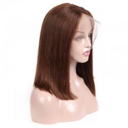 Full Lace Wig, Color 4 (Dark Brown)
