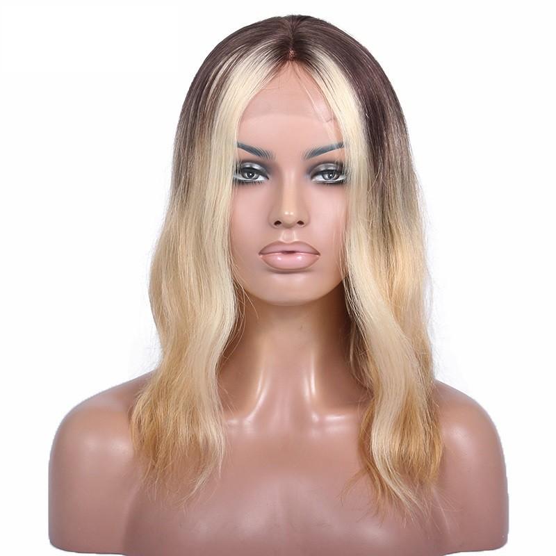 Full Lace Wig, Bob, Color 1 (Jet Black)