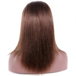 Full Lace Wig, Color 4 (Dark Brown)