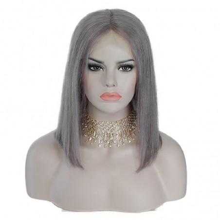 Lace Front Wig, Color Grey (Silver)