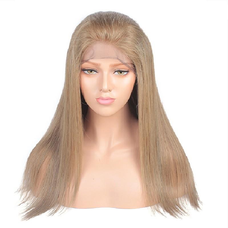 "Full Lace Wig, 18"", Color 18 (Ligh Ash Blonde)"