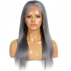 Lace Front Wig, Color Silver (Grey)