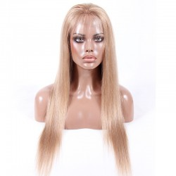 Lace Front Wig, Color 16 (Medium Ash Blonde)