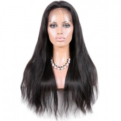 Lace Front Wig, Color 1 (Jet Black)
