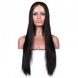 Full Lace Wig, Color 18 (Light Ash Blonde)