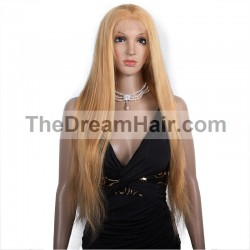 Lace Front Wig, Color 27 (Honey Blonde)