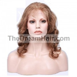 Full Lace Wig, Color 33 (Auburn)