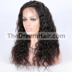Lace Front Wig, Color 1B (Off Black)