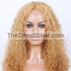 Lace Front Wig, Color 24 (Golden Blonde)