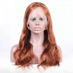 Lace Front Wig, Color 33 (Auburn)