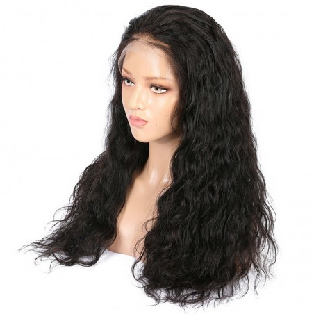 Lace Front Wig, Color 1B (Off Black)
