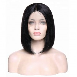 360° Lace Wig, Bob, Color 1 (Jet Black)