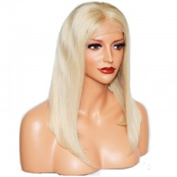 360° Lace Wig, Color 18 (Light Ash Blonde)