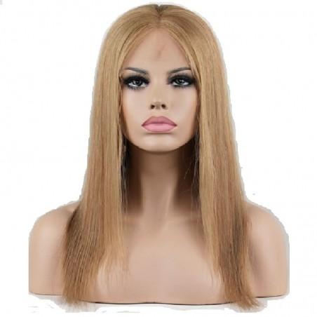 """360° Lace Wig, 16"""", Color 18 (Light Ash Blonde)"""