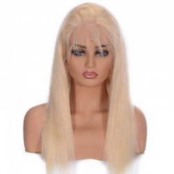 360° Lace Wig, Color 22 (Light Pale Blonde)