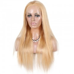 360° Lace Wig, Color 24 (Golden Blonde)