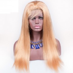 360° Lace Wig, Color 27 (Honey Blonde)