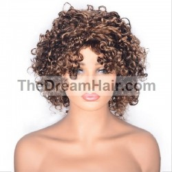 360° Lace Wig, Highlight Color 2/27 (Darkest )