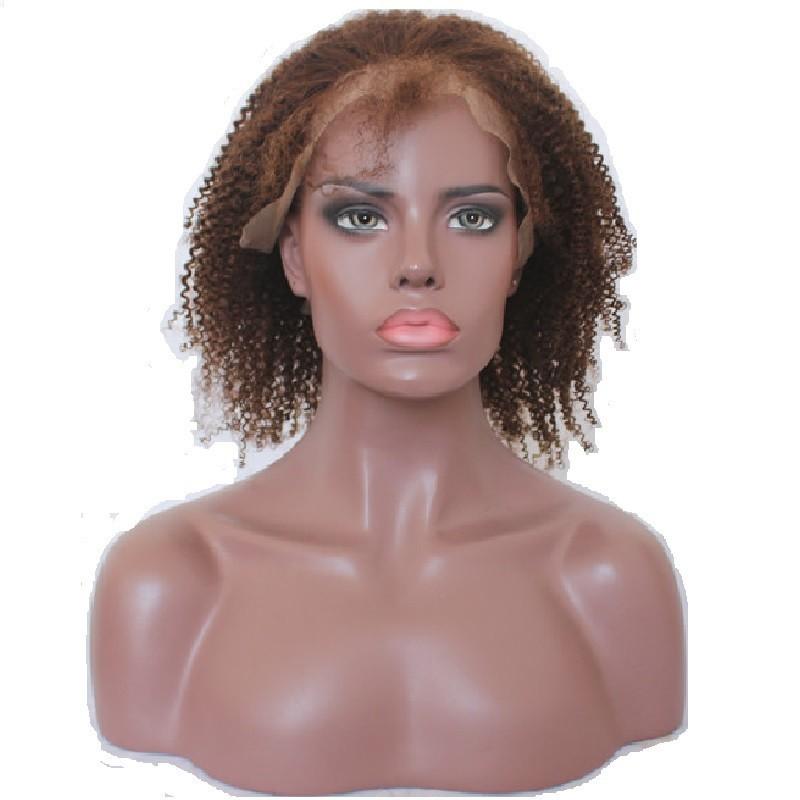 "Full Lace Wig, Bob, 10"", Color 1B (Off Black)"
