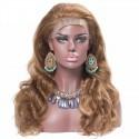 Full Lace Wig, Bob, Color 8 (Chestnut Brown)