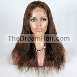360° Lace Wig, Color 2 (Darkest Brown)