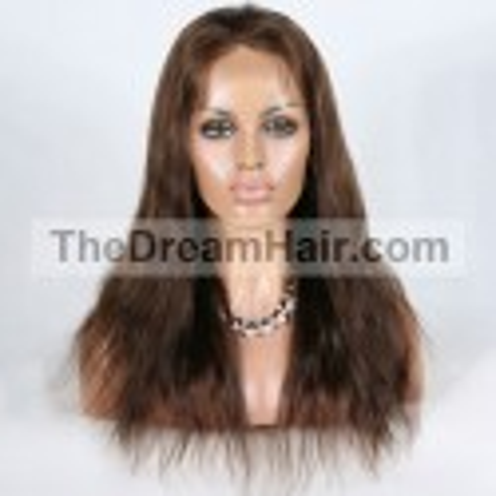 360° Lace Wig, Color 2 (Darkest Brown)