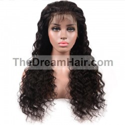 360° Lace Wig , Color 1B (Off Black)