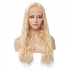 360° Lace Wig, Color 613 (Platinum Blonde)