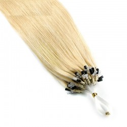 Micro Loop Ring Hair, Color 22 (Light Pale Blonde)
