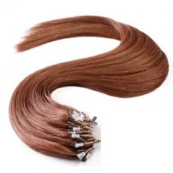 Micro Loop Ring Hair, Color 33 (Auburn)