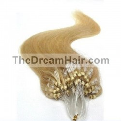 Micro Loop Ring Hair, Color 24 (Golden Blonde)