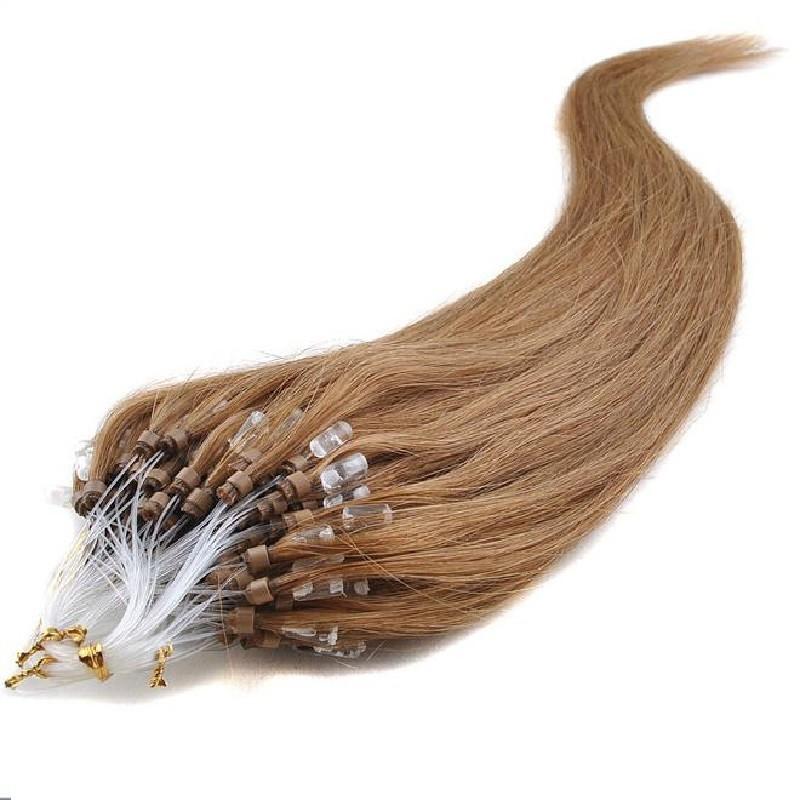 Micro Loop Ring Hair, Color 12 (Light Brown)