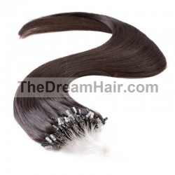 Micro Loop Ring Hair, Color 2 (Darkest Brown)