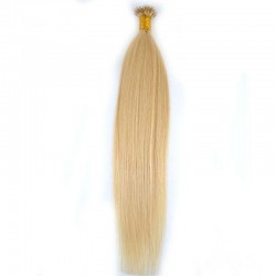 Nano Ring Hair Extensions, Color #22 (Light Pale Blonde), Made With Remy Indian Human Hair