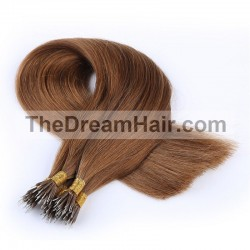 Nano Ring Hair, Color 6 (Medium Brown)