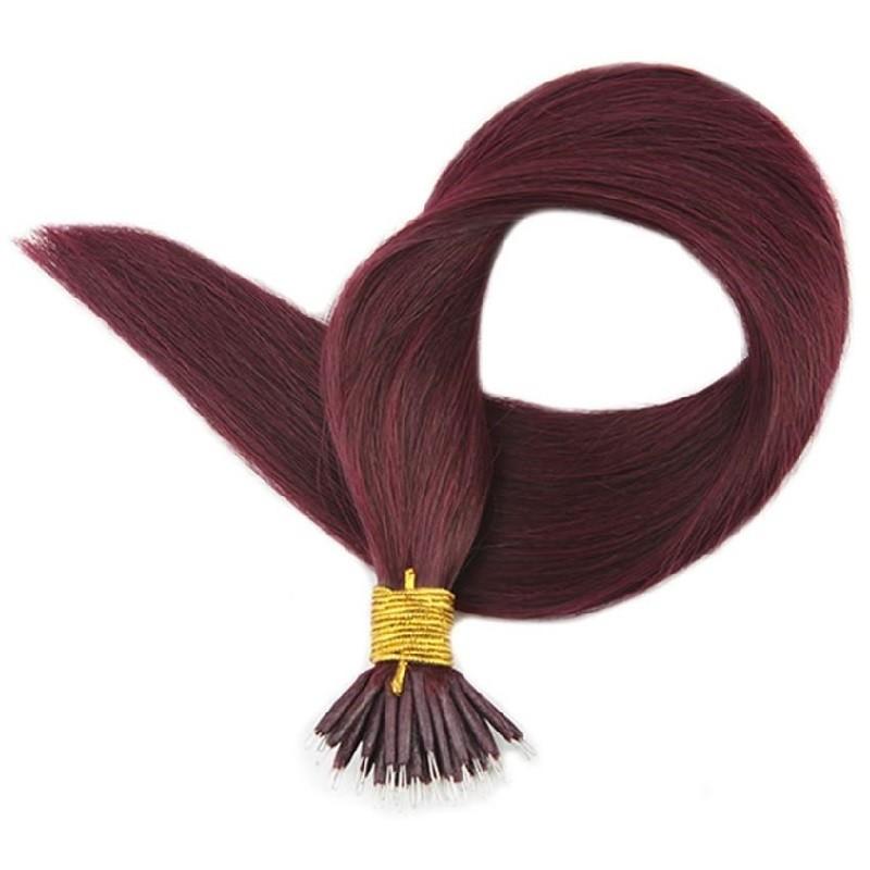 Nano Ring Hair, Color 99j (Burgundy)