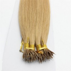 Nano Ring Hair, Color 18 (Light Ash Blonde)