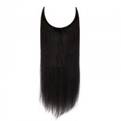 Flip in - Halo Hair, Colour 1 (Jet Black)