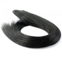 Skin Weft Hair, Colour 1 (Jet Black)
