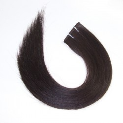Skin Weft Hair, Colour 1B (Off Black)