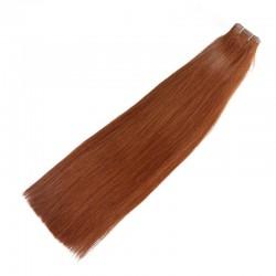 Skin Weft Hair, Colour 4 (Dark Brown)