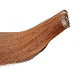 Skin Weft Hair Extensions, Colour #6 (Medium Brown), Made With Remy Indian Human Hair