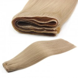 Skin Weft Hair Extensions, Colour #18 (Light Ash Blonde), Made With Remy Indian Human Hair