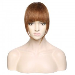 Blend in Fringe, Colour 6 (Medium Brown)