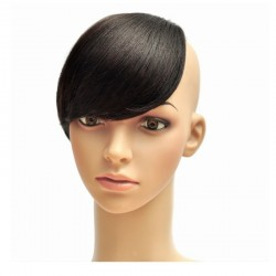 Sweeping Side Fringe, Colour 1 (Jet Black)